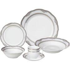 Victoria Porcelain 24 Piece Dinnerware Set