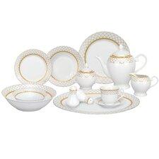 Beatrice 57 Piece Porcelain Dinnerware Set