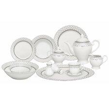 Verona 57 Piece Porcelain Dinnerware Set
