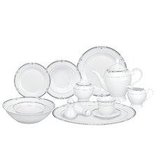 Rio 57 Piece Porcelain Dinnerware Set
