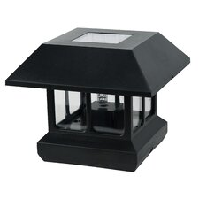 Solar LED Fence Post Cap