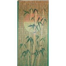 Sun Bamboo Rayon Silhouette Single Curtain Panel