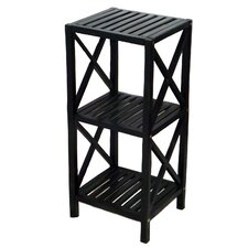 Bamboo 3 Tier End Table