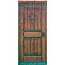 "78"" x 36"" Bamboo Beaded Curtain Door Motif Room Divider"