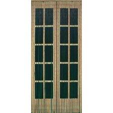 "78"" x 36"" Bamboo Beaded Curtain Double Doorr Motif Room Divider"