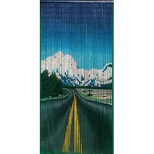 Road to Nature Single Curtain Panel