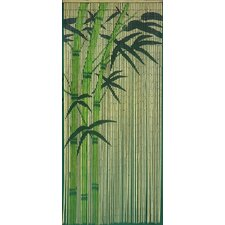 Bamboo Single Curtain Panel