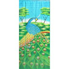 Peacock Single Curtain Panel