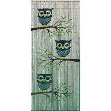Cute Owls Single Curtain Panel