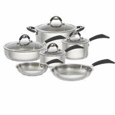 Xpert 10-Piece Nonstick Stainless Steel Cookware Set
