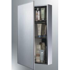 """18"""" x 24"""" Surface Mounted Flat Medicine Cabinet"""