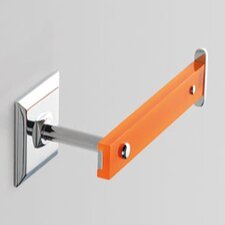 Grip Wall Mounted Toilet Roll Holder with Chrome Base