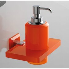 Liquid Soap Dispenser with Plexiglass Mounting