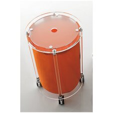 Linen Cart with Orange Bag