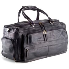 "Vachetta 19.5"" Leather Travel Duffel"