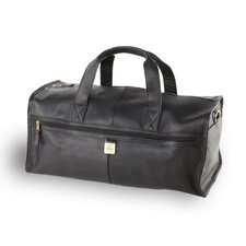 "12.5"" Leather Travel Duffel"
