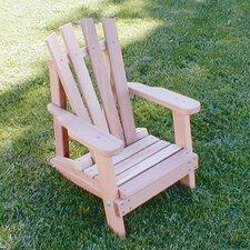 Cedar Furniture and Accessories Child Size Wide Slat Adirondack Chair