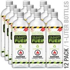 Smart Fuel Liquid Bio-ethanol Fuel Bottle (Set of 12)