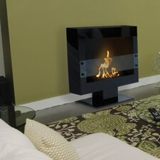 Anywhere Fireplaces Tribeca Free Standing Bio Wall Mount Ethanol Fireplace