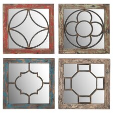Lynn Wall Mirror (Set of 4)