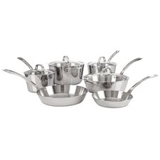 Contemporary 10-Piece Cookware Set