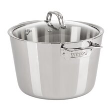 Contemporary 8-qt. Stock Pot with Lid