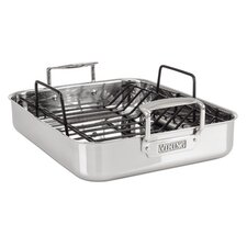 "13"" Roasting Pan with Non-Stick Rack"