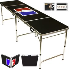 Sports Official Beer Pong Table in Standard Aluminum