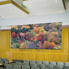 Glass Beaded Electric Projector Screen