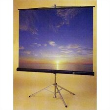 Perfecta Glass Beaded Portable Projection Screen