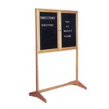 W564 Directory Free-Standing Letter Board
