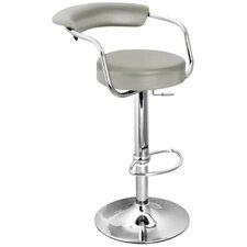 Zenith Swivel Adjustable Bar Stool