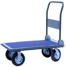 Pneumatic Wheel Platform Sack Truck