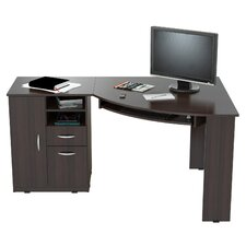 Computer Desk with Shelf