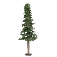 Alpine Tree 6' Green Pine Artificial Christmas Tree with Stand