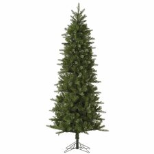 Carolina Pencil 6.5' Green Spruce Artificial Christmas Tree with Unlit