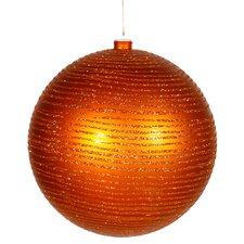 Matte-Glitter Ball Christmas Ornament