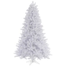 6.5' Crystal White Pine Christmas Tree with Stand