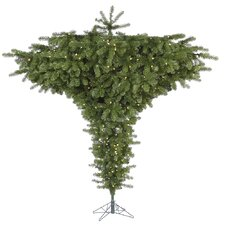 Douglas Fir 9' Green Fir Artificial Christmas Tree with 800 LED Warm White Lights with Stand