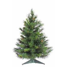 Cheyenne 3' Green Artificial Christmas Tree with Stand