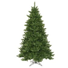 Camdon Fir 6.5' Green Artificial Christmas Tree with Unlit with Stand