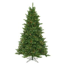 6.5' Camdon Fir Artificial Christmas Tree with 600 LED Multi Colored Lights