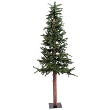Alpine 2' Green Pine Artificial Christmas Tree with Unlit