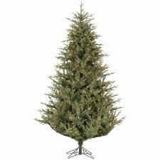 Sutter Creek 6.5' Green Fir Artificial Christmas Tree with 450 Dura-Lit Clear Lights