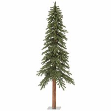 6' Natural Alpine Green Artificial Christmas Tree