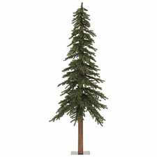 7' Natural Alpine Green Artificial Christmas Tree