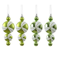 Candy Dangle Christmas Christmas Ornament (Set of 4)