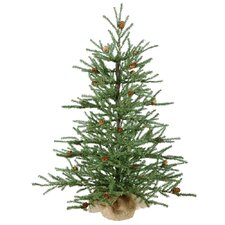Carmel 2.5' Green Artificial Christmas Tree
