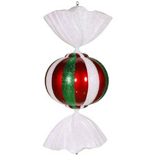 Candy Series Peppermint Ornament