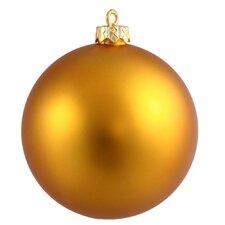 UV Ball Shatterproof Ornament